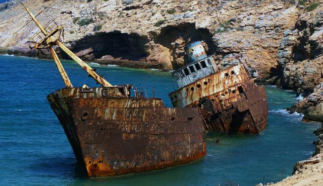 難破船祈るようなもの